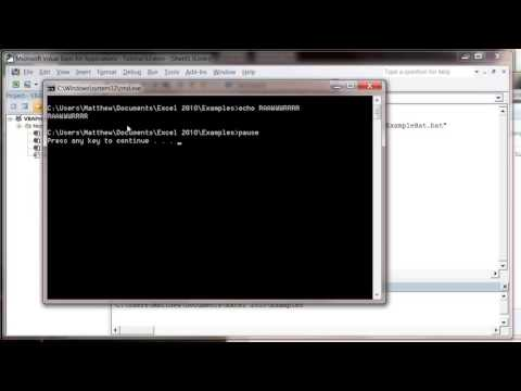 Excel 2010 VBA Tutorial 63 Using Shell Command to open a