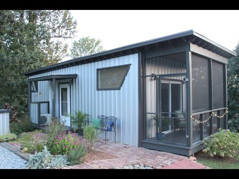 Stay In The Backyard Bunkie Tiny House on Airbnb