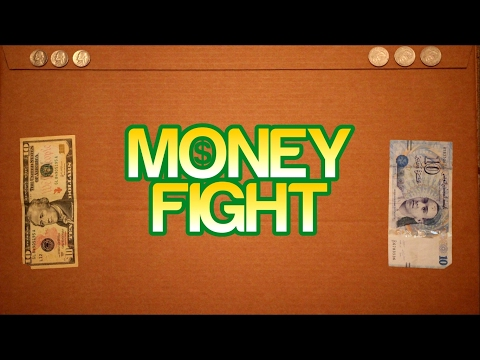 MONEY FIGHT!! | [stop motion video]