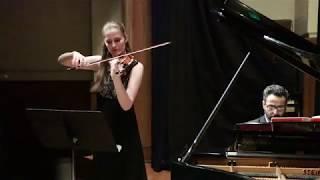 Svenja Staats and Aram Arakelyan - Violin Sonata in A Major, César Franck, 3rd movement