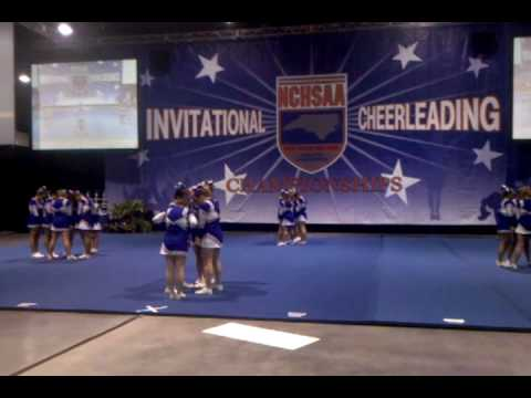Smoky Mountain HS State Cheerleading Competition 2009 2010