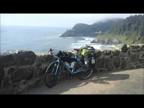 Oregon Coast Bicycle tour 2016