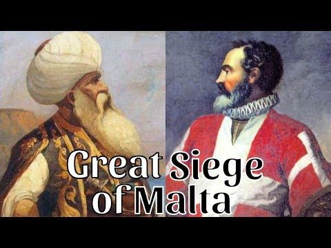 The Great Siege of Malta - Ottoman Turks vs. Knights of St. John