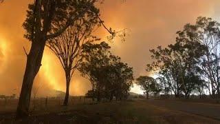 شاهد: حرائق شمال شرق أستراليا بسبب ارتفاع في درجة الحرارة…