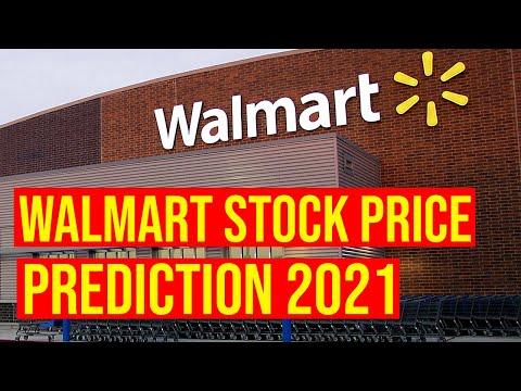 Walmart (WMT) Stock Price Prediction March, 2021