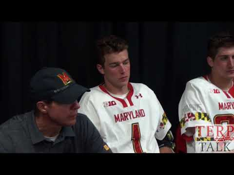 Maryland Lacrosse - Ohio State at Terps Lax 2018 Maryland press conference