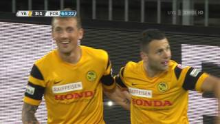 Young Boys - Basel 4:3 23.09.15
