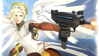 This Mercy is TOO OVERPOWERED!   Overwatch Best and Funny Moments - Ep.261
