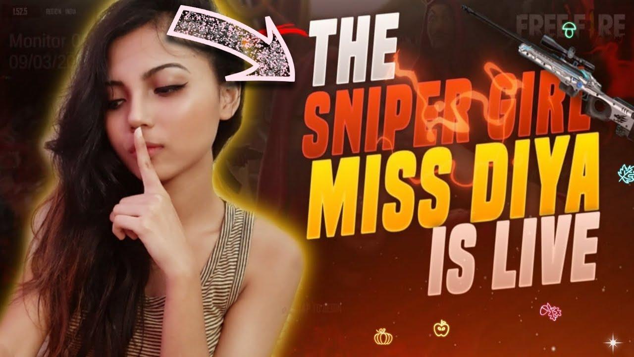 Free Fire Live - Fun Wala Gameplay With Miss Diya !!