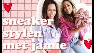 HOE COMBINEER JE SNEAKERS IN DE HERFST? - Sneaker stylen met Jamie #4