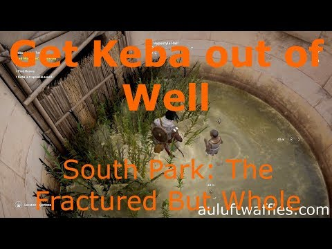 Get Keba out of Well Find Menehet's Children Assassins Creed: Origins