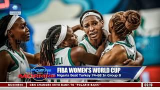 D'Tigress Beat Turkey In FIBA Women's World Cup |Sports This Morning|