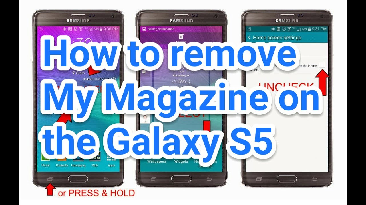 How to unsubscribe from mobile magazine