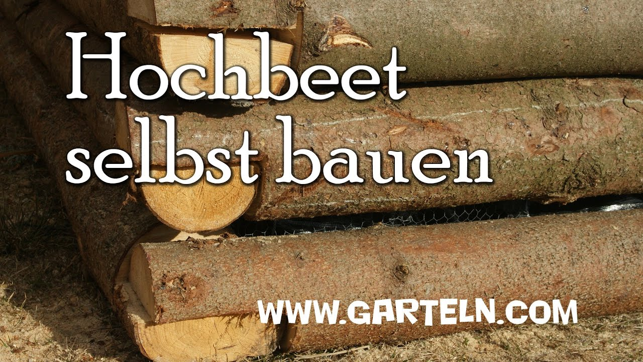 Teakholz Gartenmobel Aachen : Hochbeet bauen Teil 1  YouTube
