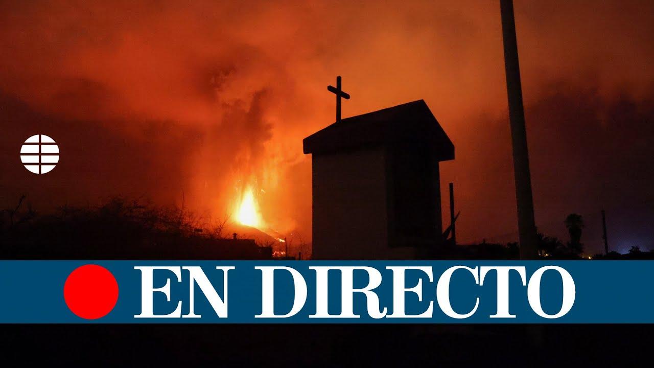 Download DIRECTO | Erupción del volcán Cumbre Vieja en La Palma