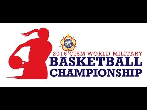 2nd CISM World Military Women's Basketball Championship 2016