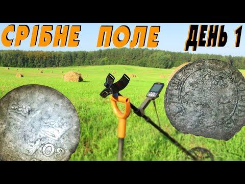 Як я накопав трохи срібла на своєму улюбленому полі #УкраїнськіКопачі #minelab #equinox800