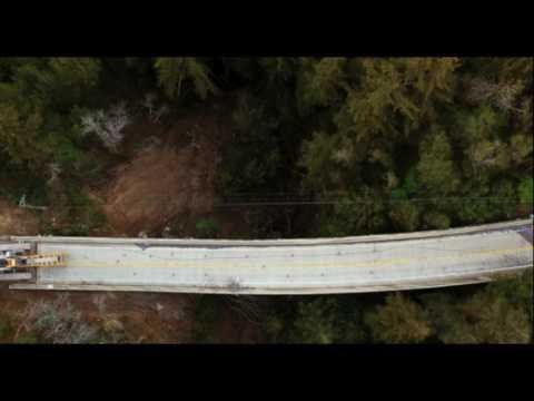 California Landslides, Rain Causes Bridge to Buckle and Split Big Sur In Two