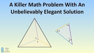 Killer Math Problem With An Unbelievably Elegant Solution thumbnail
