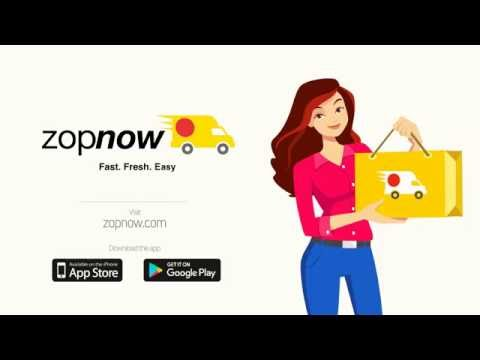 ZopNow - Get groceries Fast, Fresh, Easy!