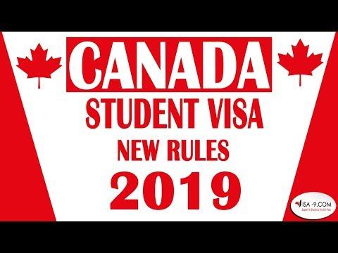 Canada Student Visa New Rules 2019-2020    Aman Arora Talks #33