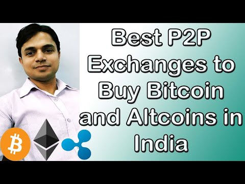 Best P2P Exchanges To Buy Bitcoin And Altcoins In India By Tech Help In Hindi