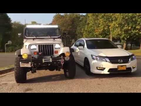 2014 Honda Accord Vs 1993 Jeep Wrangler YJ