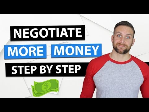How To Negotiate A Raise and Ask For More Money