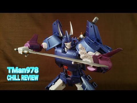 Fans Toys FT-29 Quietus with Escrima 3rd Party MP G1/IDW Cyclonus & Nightstick CHILL REVIEW