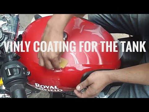 New Royal Enfield 2017 Protecting Tank from Scratches