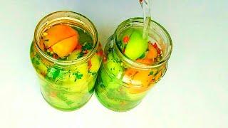 Бомбические Зелёные Помидоры НА ЗИМУ Фаршированные помидоры Пальчики оближешь| Рецепты на зиму
