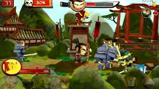 Samurai vs Zombies Defense - Mobile Gameplay (Part 2)