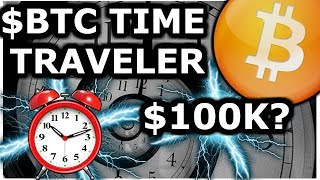 Bitcoin Time Traveler Deletes Post! Predictions Spot On. BTC 100k In 2020? Crypto News Live