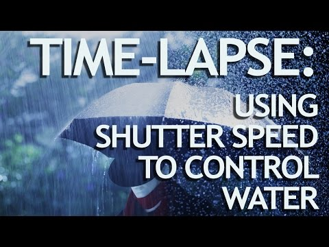 Time-lapse Photography: Using Shutter Speed to Control Water