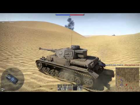 Panzer IV F.2 Battle of el Alamein realistic (War Thunder)