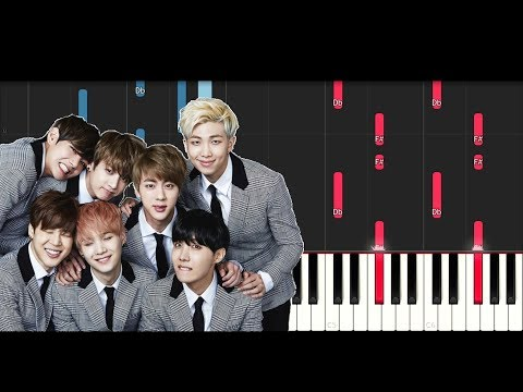 Bts Love Yourself Tear 'Singularity' (Piano Tutorial)