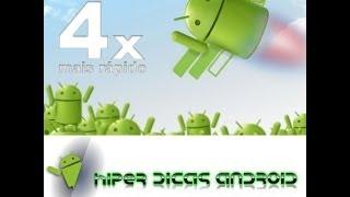 Faça seu Smarphone ou Tablet Android 4.0 ficar 4x mais veloz
