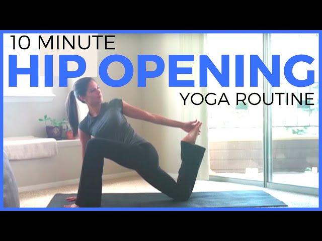 Hip Opening Yoga