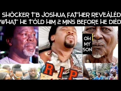 Download UNBELIEVABLE! 😱PROPHET TB JOSHUA FATHER BREAK SILENCE AND REVEÀLÈD THIS TO THE ENTIRE WORLD.