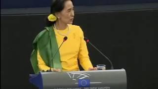 Aung San Suu Kyi - Sakharov Prize