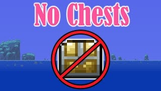 Terraria, but I Can't Uṡe Chests (1/2)