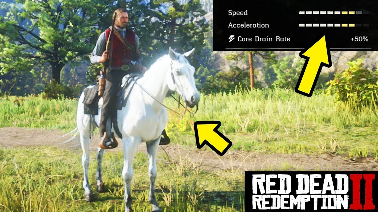 Red Dead Redemption 2 Arabian Horse Location Rarest Horse In Rdr2