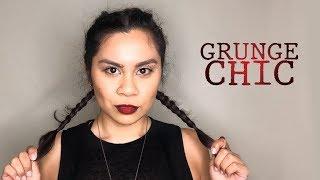 Grunge Chic | Red Lip Ruby Woo | GRWM