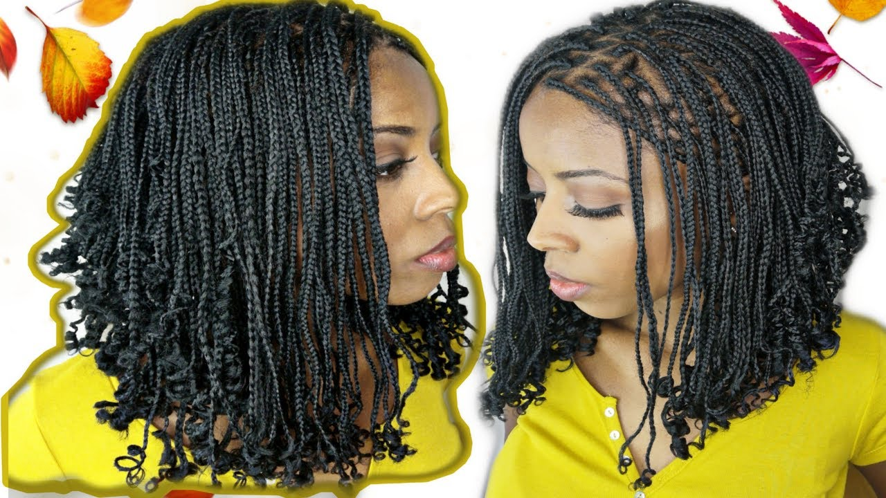 Diytresses Carré Plongeant Tranças Chanel Curls Bob Box Braid Mjbeauty