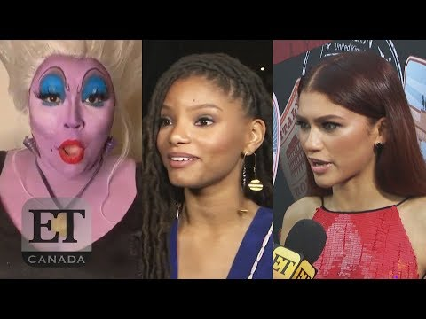 Zendaya, Lizzo React To Halle Bailey As 'The Little Mermaid'