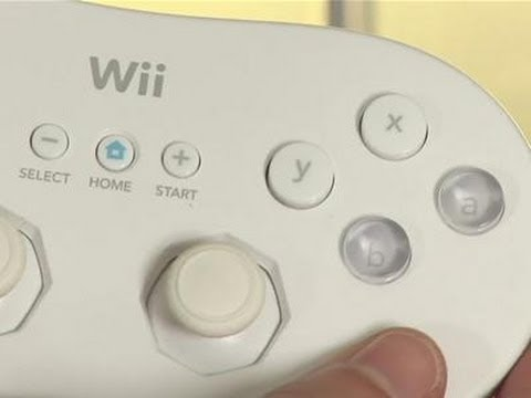 How To Use A Classic Wii Controller