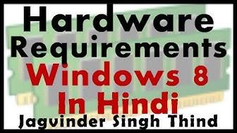 Microsoft Windows 8 Minimum Hardware System Requirements - Video 3
