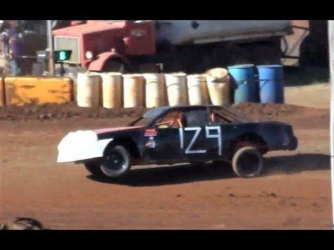 "Street Stock-#129 Brian Cronk-""In da Air""!@ Sunset Speedway 2018"