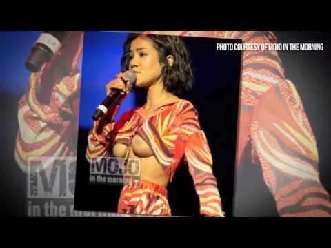 Jhene Aiko's Breasts Exposed During Wardrobe Malfunction? -Hiphollywood.com thumbnail