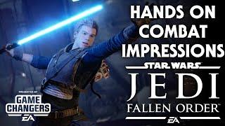 Star Wars Jedi: Fallen Order - HANDS ON Combat Impressions!